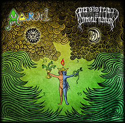Aarni / Persistence In Mourning Split Cover Artwork